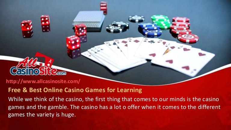 何オンラインカジノゲーム一番いいですか?